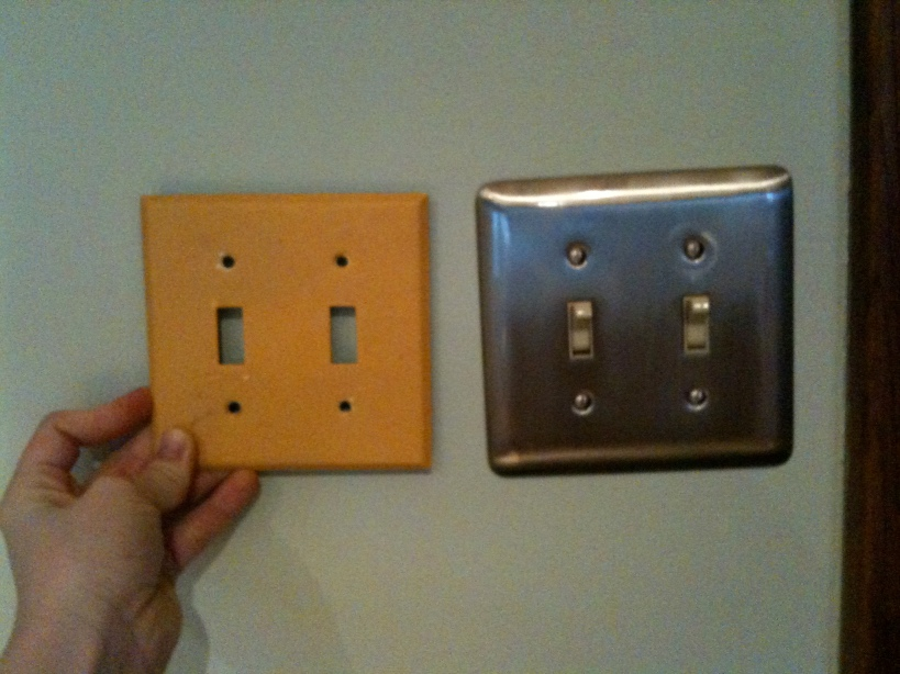 New Stainless Steel Faceplates