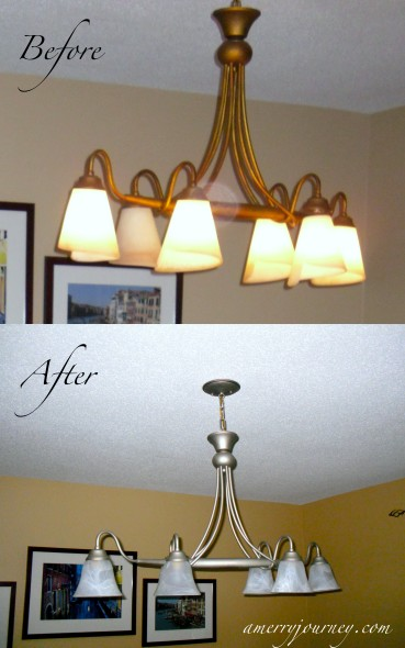 Refinishing a Chandelier